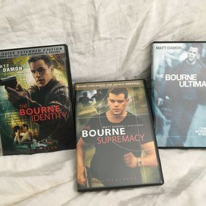 The Bourne Identity/Supremacy/Ultimatum